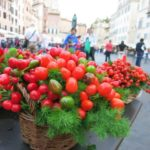 fall colors + rome {campo de' fiori}
