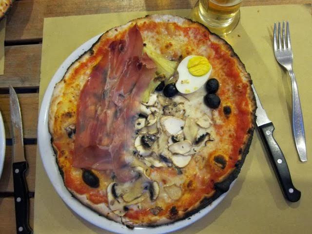 Best pizza in rome 2013 elizabeth minchilli in rome - Pizzeria le finestre roma ...