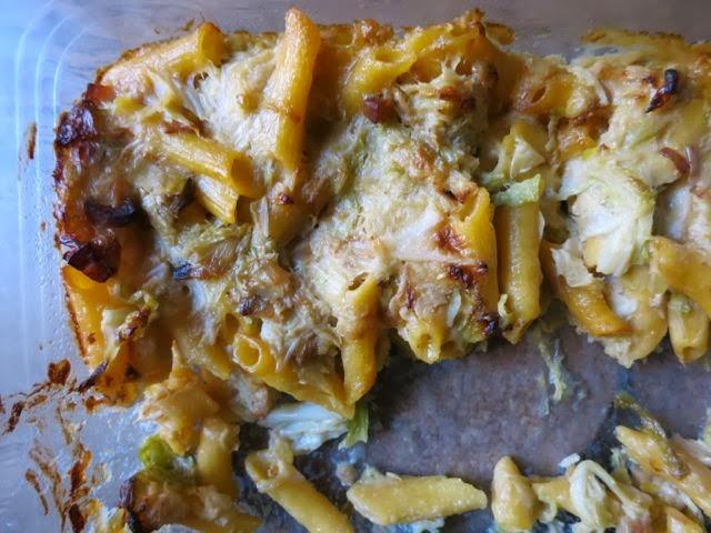 mac + cheese + pancetta + cabbage - Elizabeth Minchilli