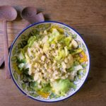 escarole + blue cheese {salad}