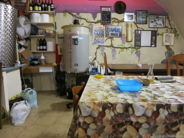 Vino at Gino's in Marino www.ElizabethMinchilliInRome.com