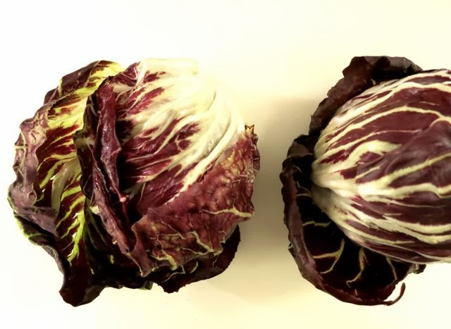 roasted radicchio + pine nuts