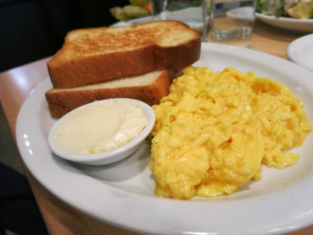 Scrambled Eggs Mile End Deli New York