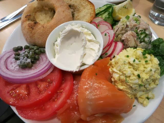 Appetizing Platter, Mile End Deli NYC