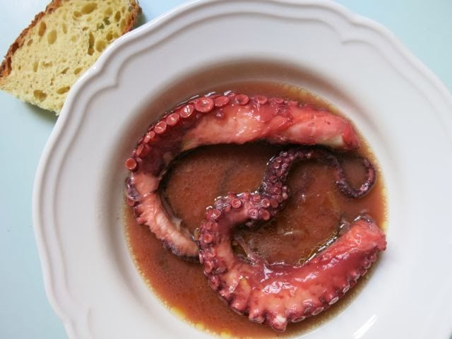 octopus {in its own water} - Elizabeth Minchilli