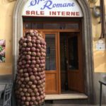 the leaning tower of artichokes {rome}