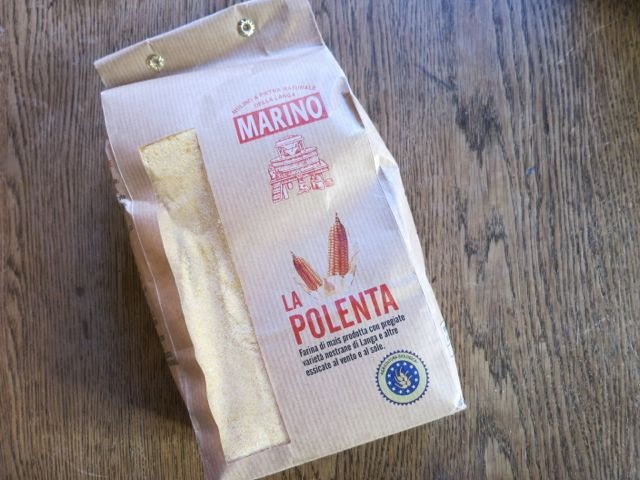 easy {no stir} oven polenta