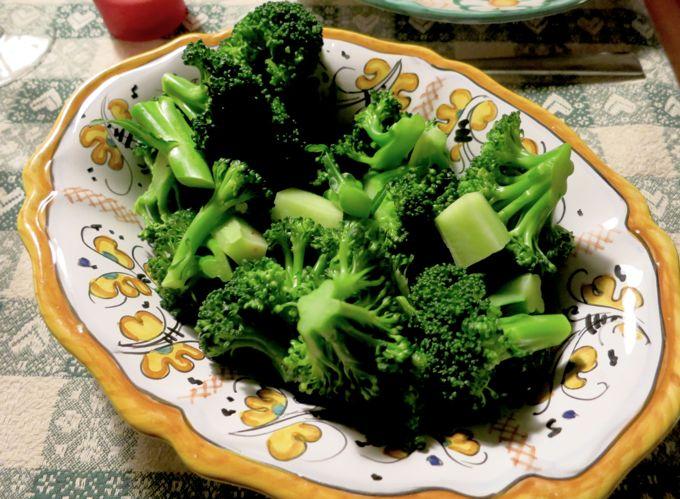 Broccoli for Swiss Cheese Fondue