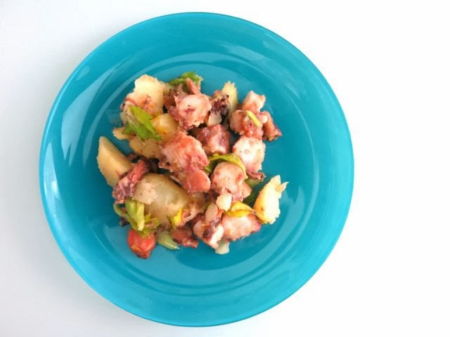 octopus + potato {salad}
