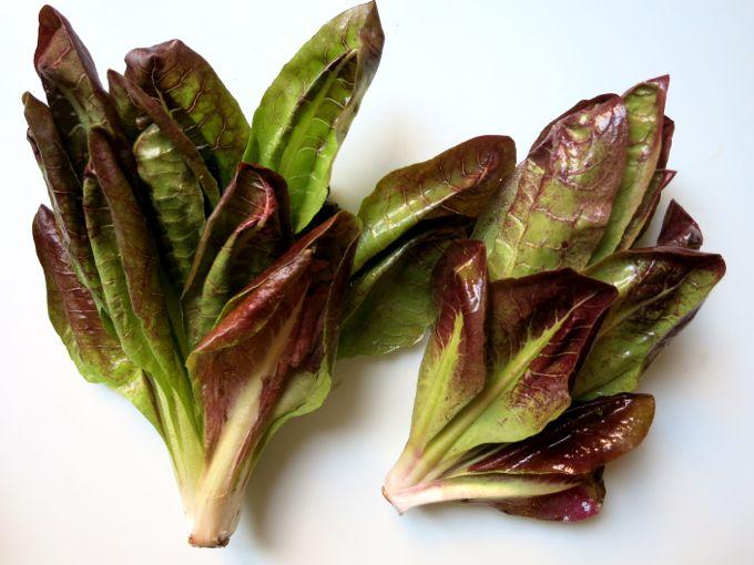 Radicchio + Strawberry Salad