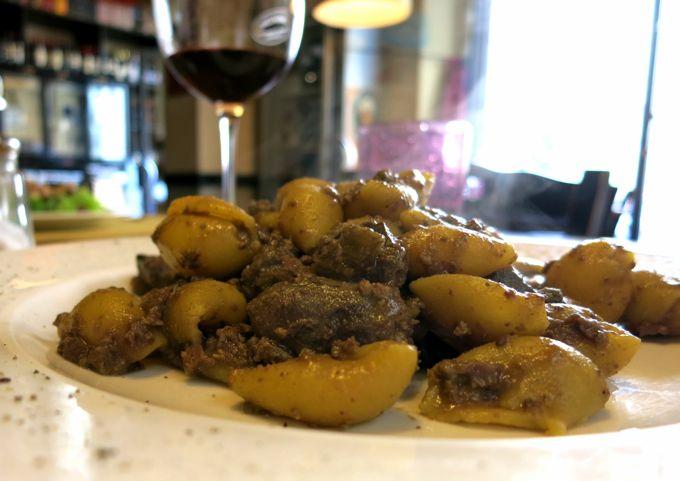 Pasta with Chicken Livers, Osteria Tripperia Il Magazzino