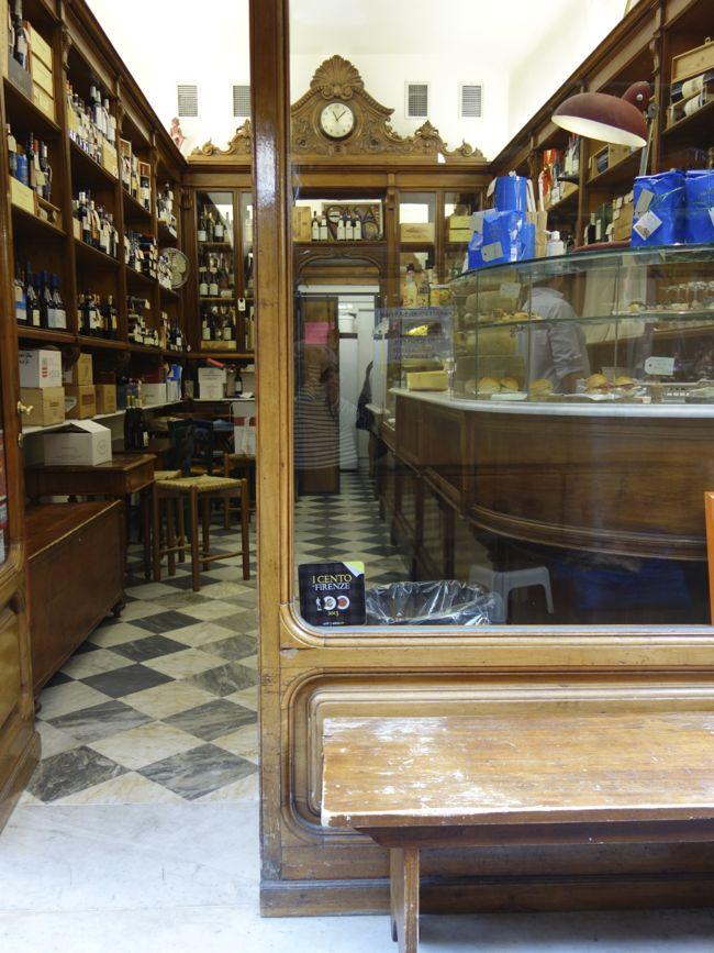 Eating Panini At Casa Del Vino Florence