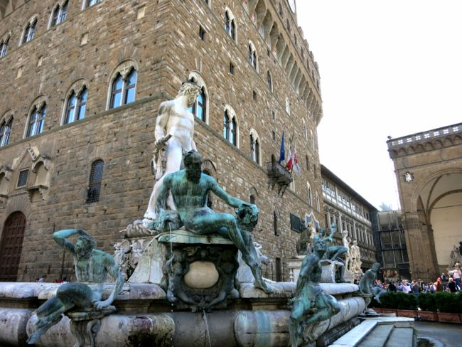 meal with a view {gucci caffe – florence}