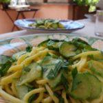 zucchini + colatura {pasta}