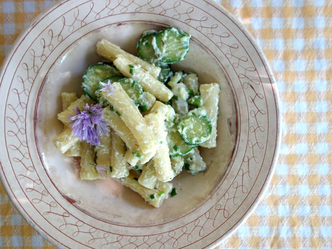 Pasta with Zucchini, Ricotta and Rosemary - 44