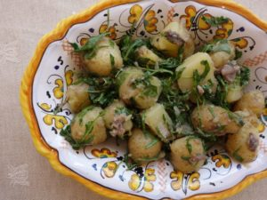 Potates and Anchovies