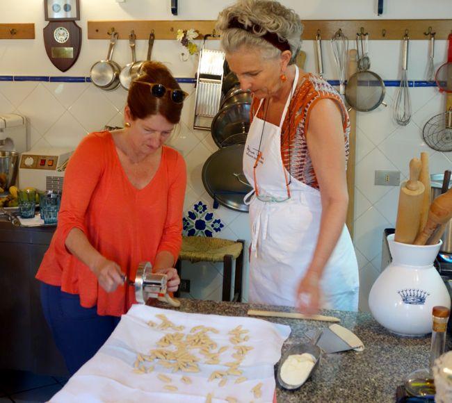 Fabriza Lanza and Elizabeth Minchilli