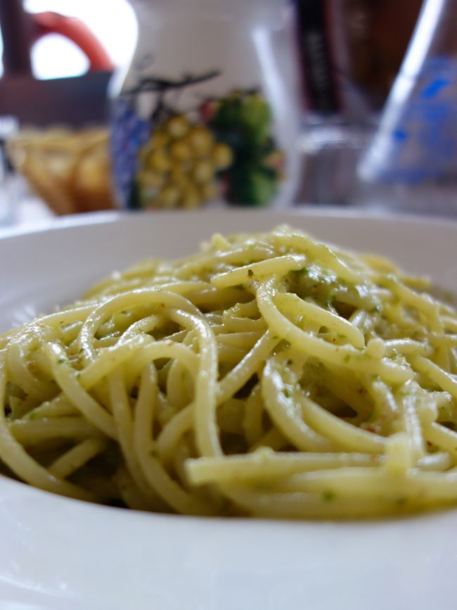 green pepper pesto {da adolfo}