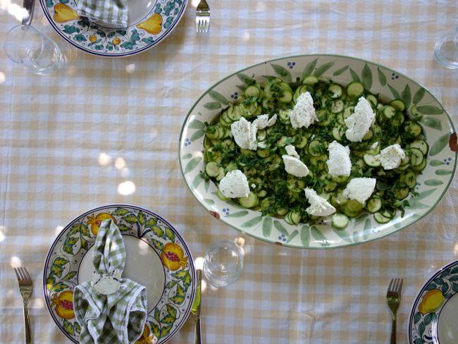 Zucchini Salad with Ricotta