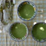 zucchini-soise {cold soup}