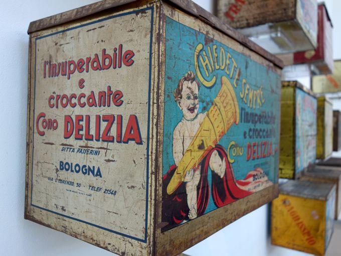 Antique Ice Cream Cone Boxes