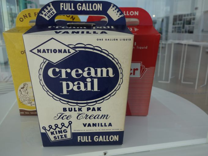 Antiique Ice Cream Boxes