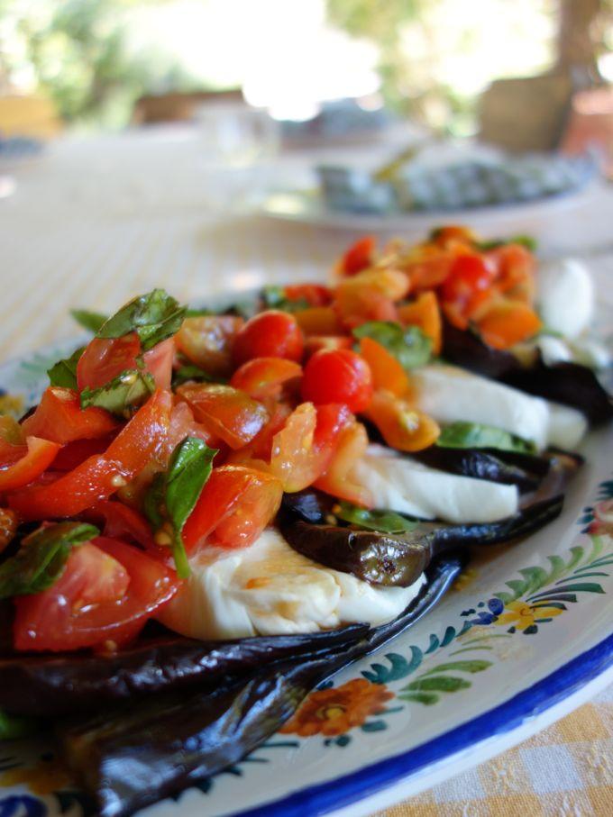 Eggplant Caprese Elizabeth Minchilli In Rome7