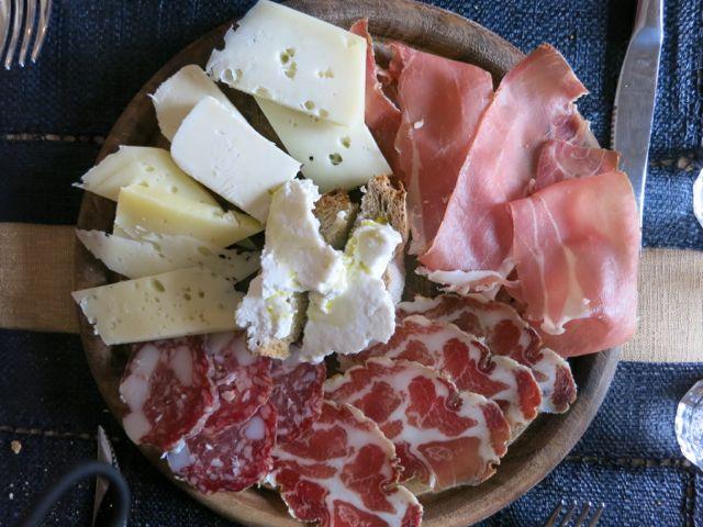 Proloco, Tagliere salumi e formaggi