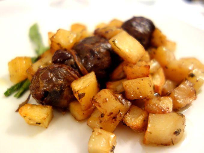 Marretto di agnello con patate
