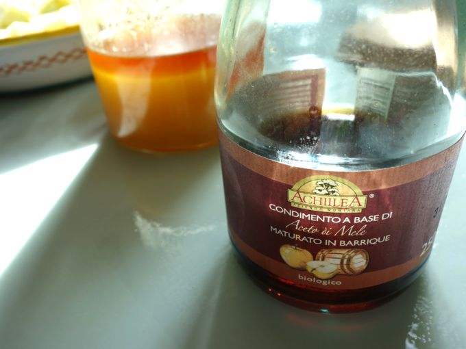 Vinegar and honey