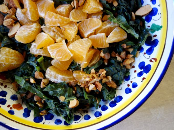 Kale and Clementine Salad