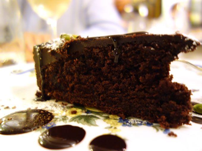 Chocolate Cake: Ristorante_al_Covo_Venice_Elizabeth_Minchilli_in_Rome - 37