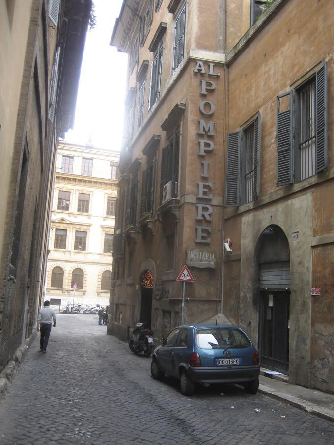Dal Pompiere, Rome. Elizabeth Minchilli