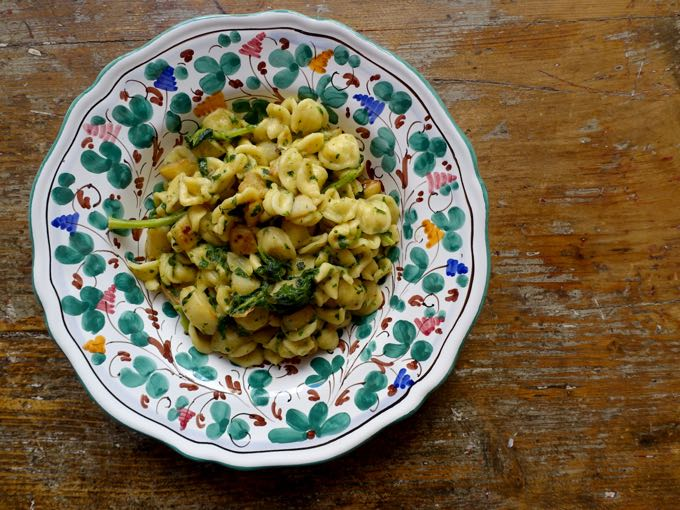 Oreccchiette with Turnip Greens