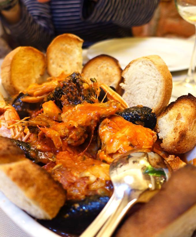 Antiche Mura, Polignano: Fish Soup