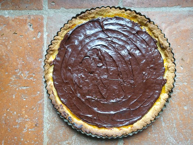 Crostata with Orange and Chocolate