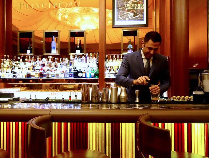 Principe bar hotel principe di savoia milan for White bar milano
