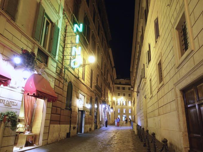 ristorante nino in rome {with victor hazan}