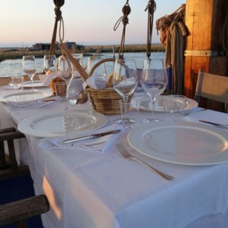 dining on the eolo {venetian lagoon}