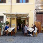 eating + walking in trastevere {rome}