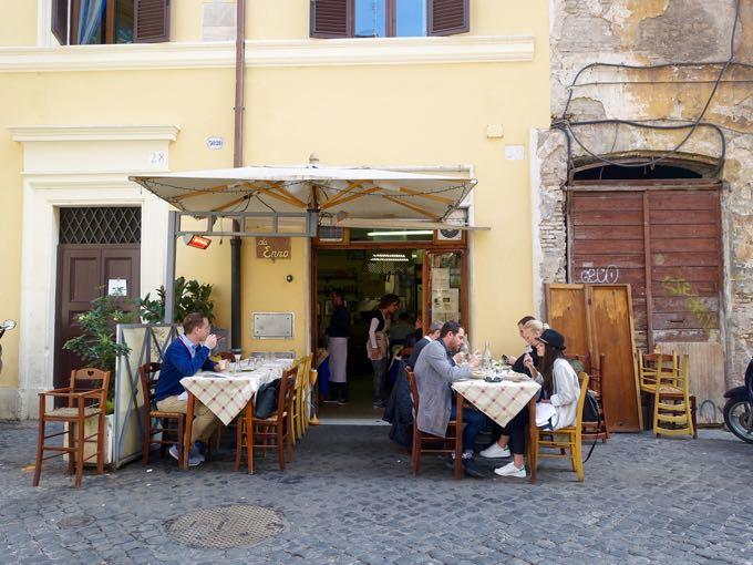 eating + walking in trastevere {rome}