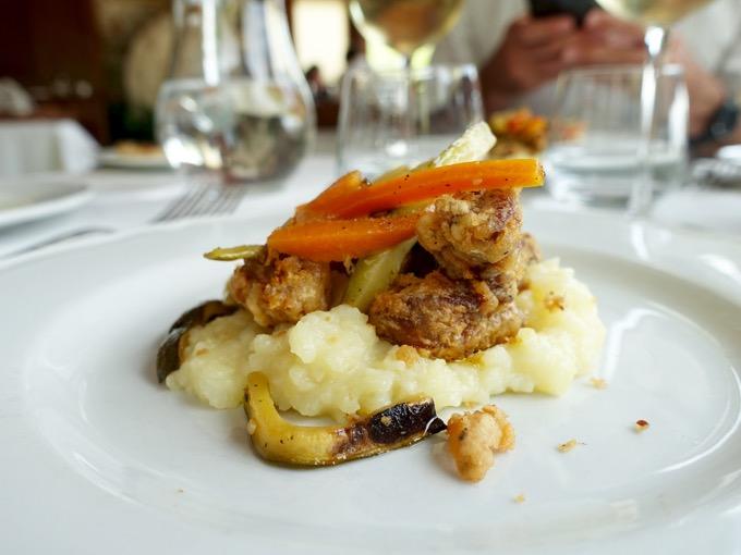 Fried Lamb, Il Cadoro, Pacentro, Abruzzo