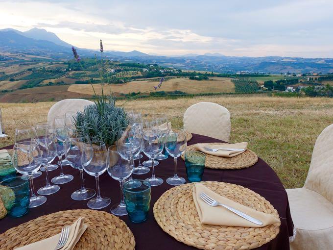 Primo Grano Dinner, Abruzzo