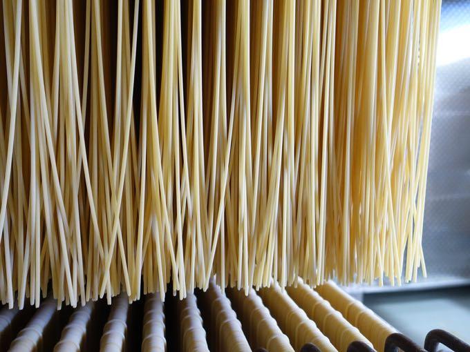 Drying pasta, Rustichella D'Abruzzo Pasta Factory, Abruzzo