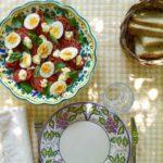 tomato + egg {salad}