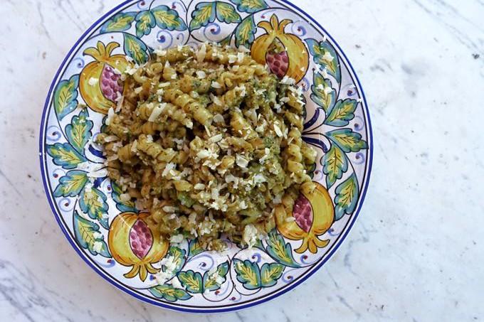 Pasta with Broccoli Carbonara