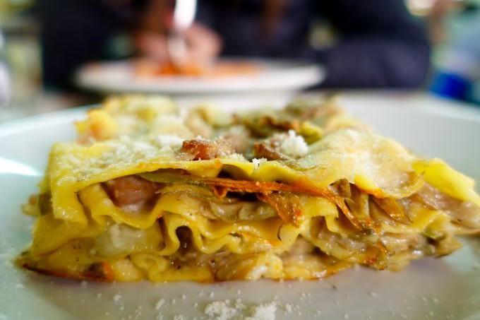 Lasagna, Da Enzo, Trastevere, Rome
