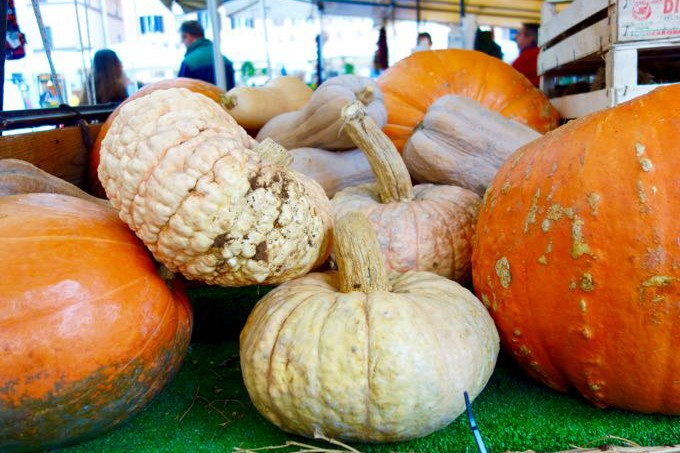 Pumpkins at Campo dei Fiori Elizabeth Minchilli - 1