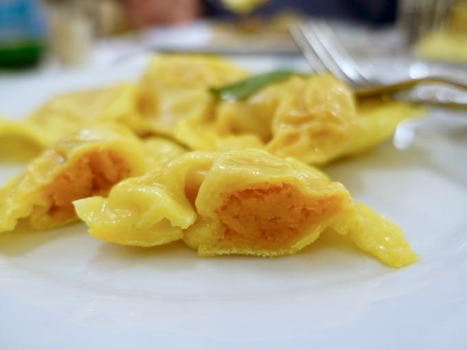 Tortelli di Zucca, Colline Emiliane, Rome