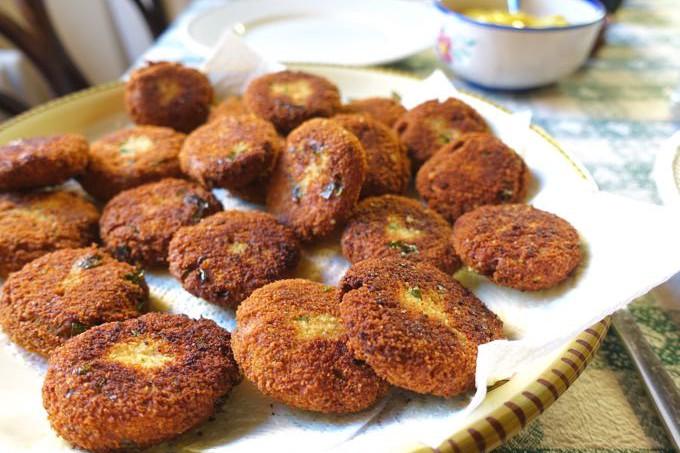 Fried Meatballs Elizabeth Minchilli